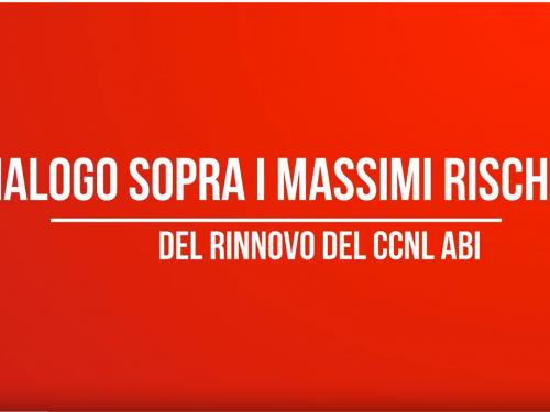 Dialogo sopra i massimi rischi del rinnovo del CCNL ABI – un contributo video di Agor@